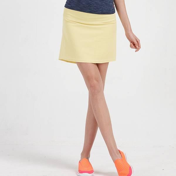 TAN058單層短裙(商品不含內搭與配件)-百貨專櫃品牌 TOUCH AERO 瑜珈服有氧服韻律服 台灣製造,吸濕排汗,瑜珈,健身運動,顯瘦,提臀,高腰,彈力,重訓,速乾