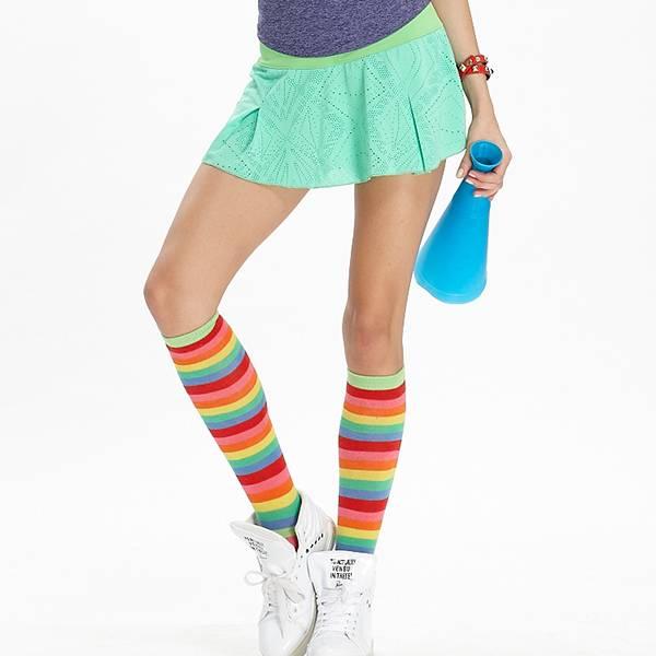 TA517雙層短裙(商品不含內搭與配件)-百貨專櫃品牌 TOUCH AERO 瑜珈服有氧服韻律服 台灣製造,吸濕排汗,瑜珈,健身運動,顯瘦,提臀,高腰,彈力,重訓,速乾