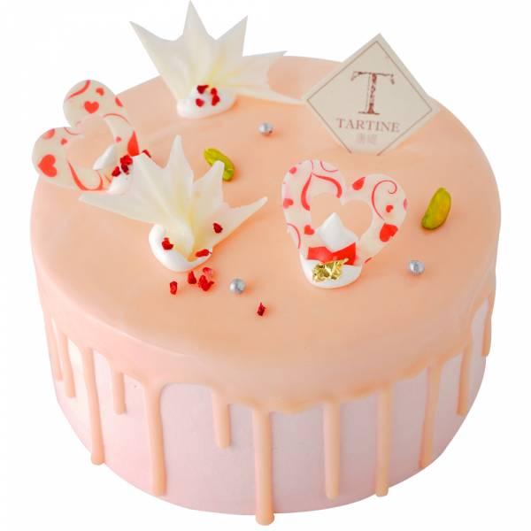 粉粉草莓心 6-8吋 草莓蛋糕,蛋糕宅配,冷凍蛋糕宅配,生日蛋糕推薦,草莓蛋糕推薦,蛋糕名店