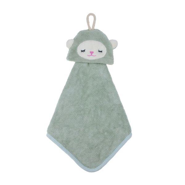 小綿羊擦手巾 擦手巾,珊瑚絨,吸水力,擦手,毛巾,innogoods,事事好物