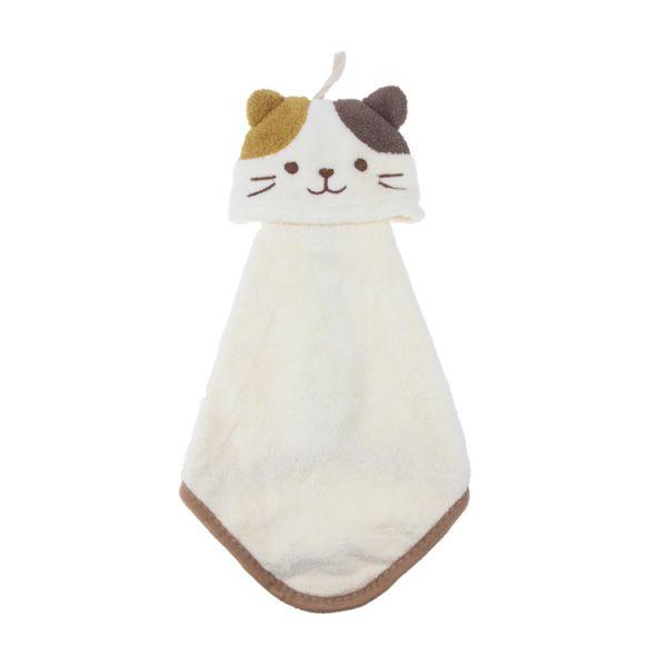 小貓擦手巾 擦手巾,珊瑚絨,吸水力,擦手,毛巾,innogoods,事事好物