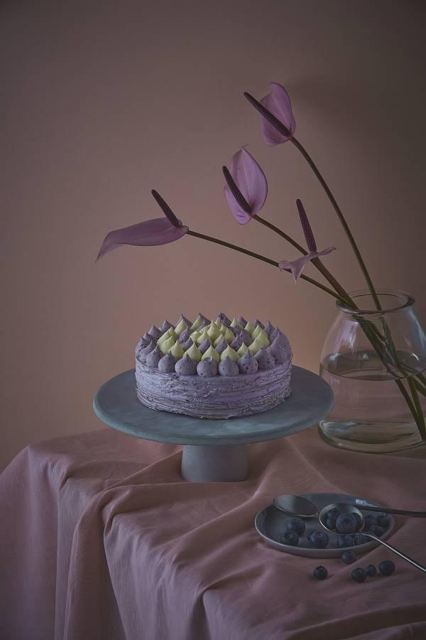 藍莓乳酪千層