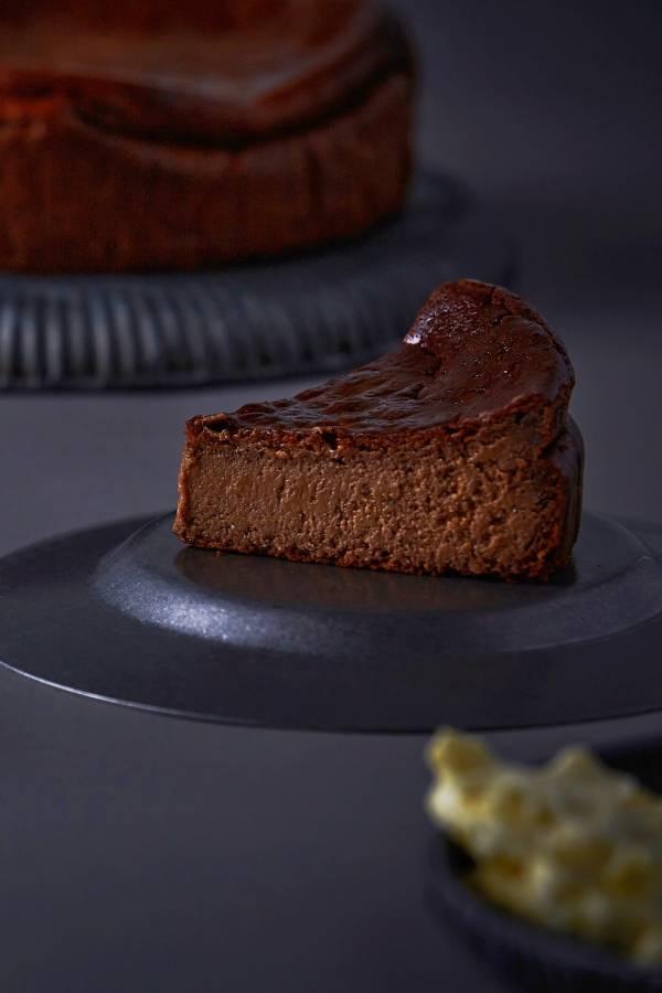 法芙娜巧克力巴斯克乳酪蛋糕