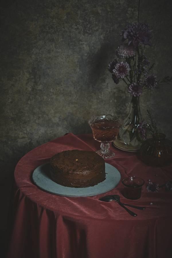 草莓瓦尼尼巧克力千層蛋糕