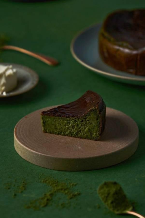 小山園抹茶巴斯克乳酪蛋糕