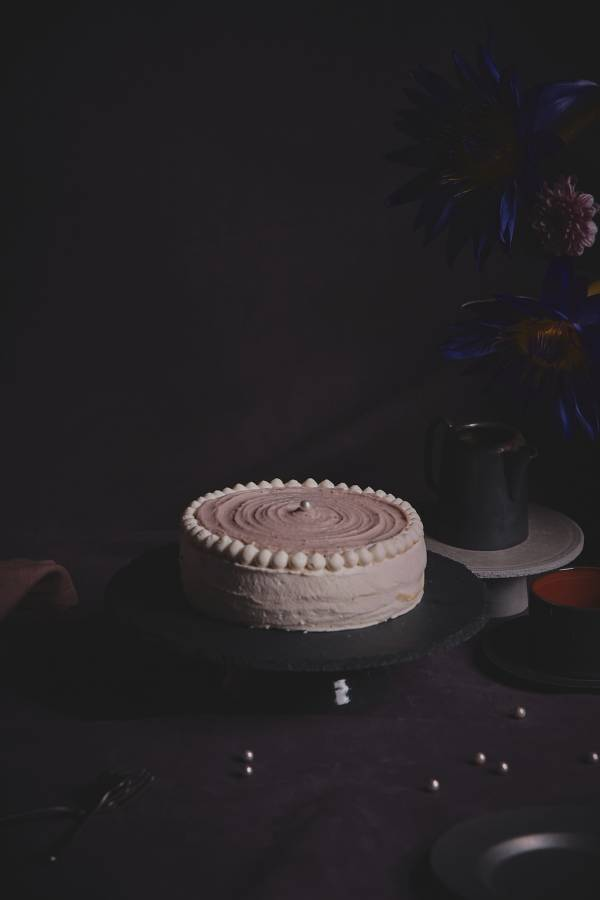芋泥烤布丁千層蛋糕