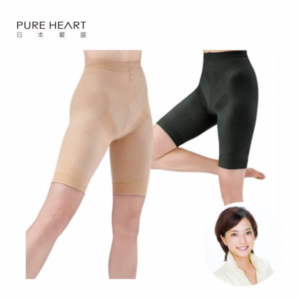 日本原裝進口-前花式滑冰日本代表-八木沼純子監製-完美比例修身褲1入 輕薄 吸水 快乾 提臀 壓力針織 支撐 肌肉活動量 能量消耗