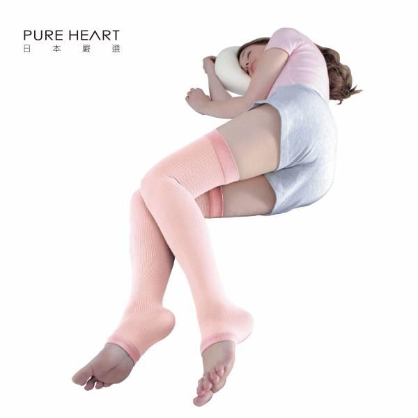 日本原裝進口-睡眠護理美腿襪 日本 原裝進口 護理 壓力襪 小腿 大腿  疲勞 久站 晚安 美腿襪 睡眠襪