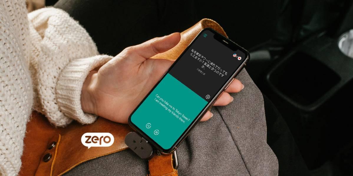 【 ZERO|附著式翻譯機 】40多種語言 / 88種口音! ZERO翻譯機,翻譯機