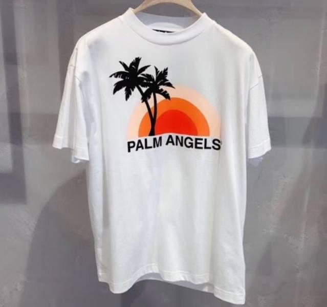 Palm Angels 白色棉質T SHIRT上衣  S/M/L/XL Bottega Veneta
