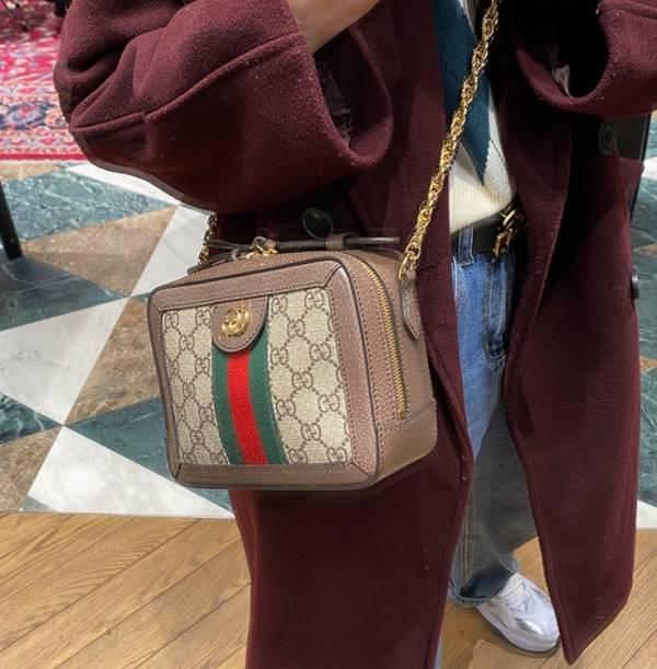 Gucci 602576 Ophidia GG 迷你餐盒包
