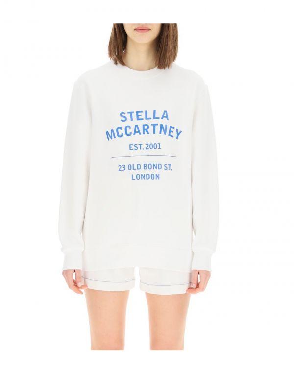 Stella McCartney 女款 23 OBS 印花衛衣上衣  S/M