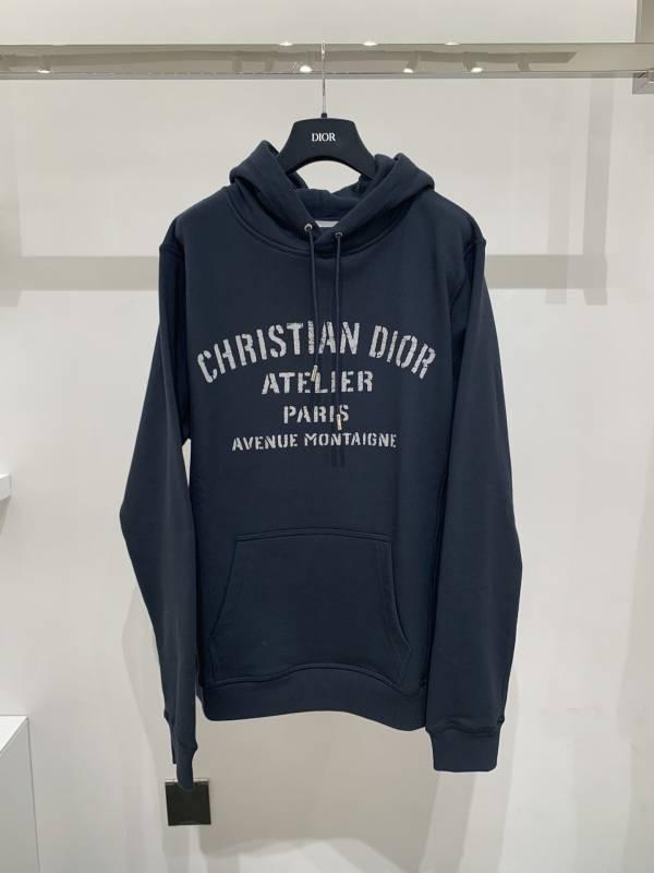Dior 男款寬身「CHRISTIAN DIOR ATELIER」  連帽衫運動衛衣  S.M.L.XL DIORHOMME