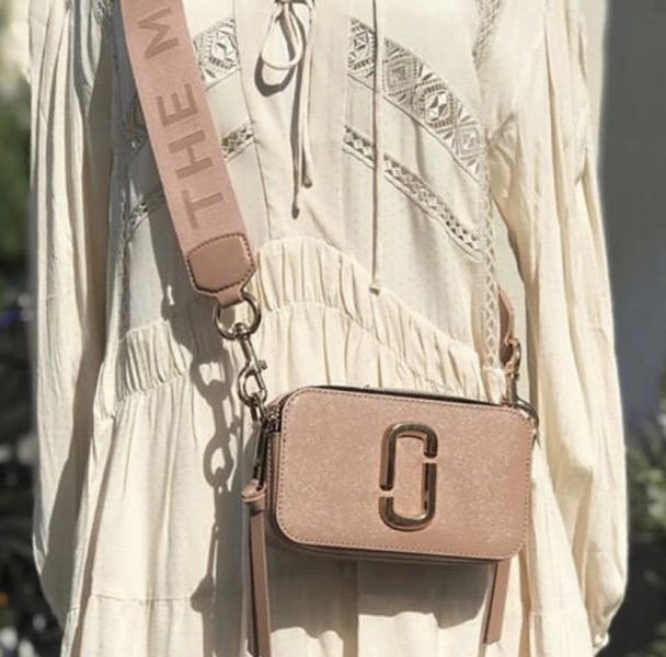 Marc Jacobs Snapshot 相機包 蜜桃粉色