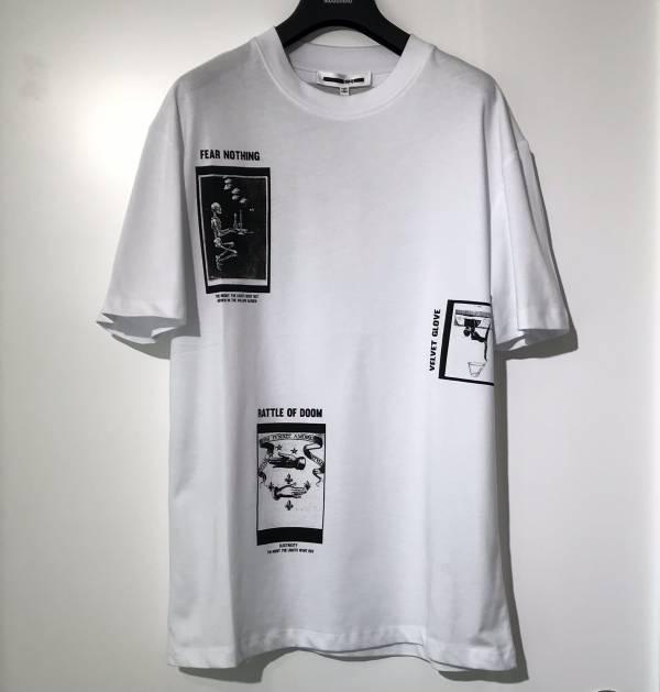 McQ 男款 Mcqueen 白色 徽標T-shirt 上衣  S/M/L