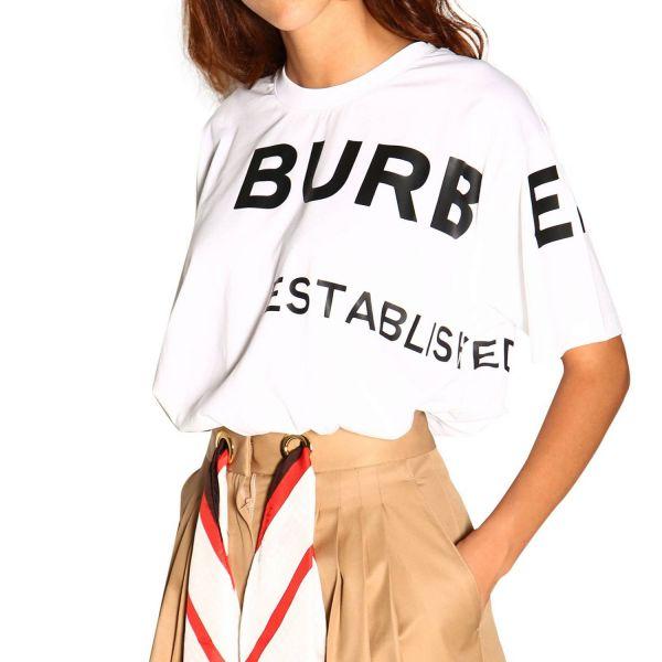 Burberry Horseferry 女款印花棉質OS寬版 T 恤上衣  S/M/L/XL 100%專櫃真品 台北市可面交 買手選品店 精品女裝出清3折起