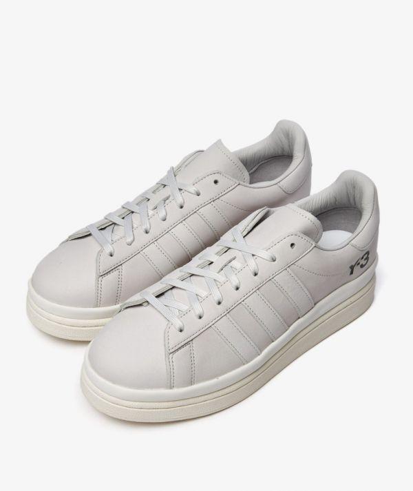 Y3 Shiku Hicho 中性款小牛皮球鞋 白色     UK 6.5/7/7.5/8.5/9/9.5/10