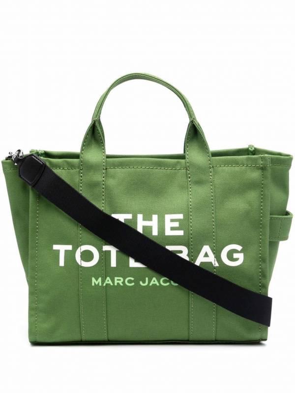 Marc Jacobs 小款 Travel 帆布托特2用包  綠色