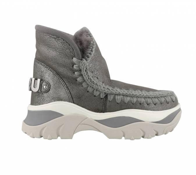 Mou英國頂級愛斯基摩Eskimo Chunky 羊毛運動靴鞋 鐵灰色    IT36/37/38/39/40/41 YSL COLLEGE學院包