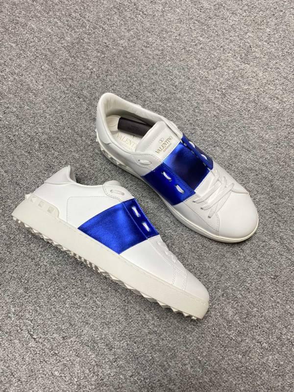 Valentino Garavani 男款Open 經典運動鞋 白色/藍色  IT39/40/41/42/43/44