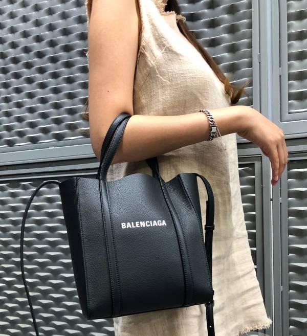Balenciaga Everyday 小牛皮 XXS 托特2用包  黑色