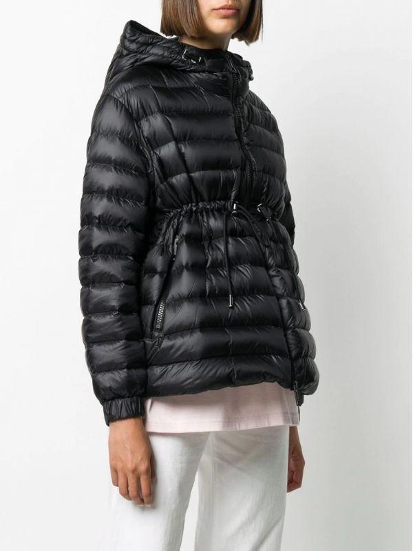 Burberry 女款輕盈連帽羽絨外套 黑色  XS/S/M