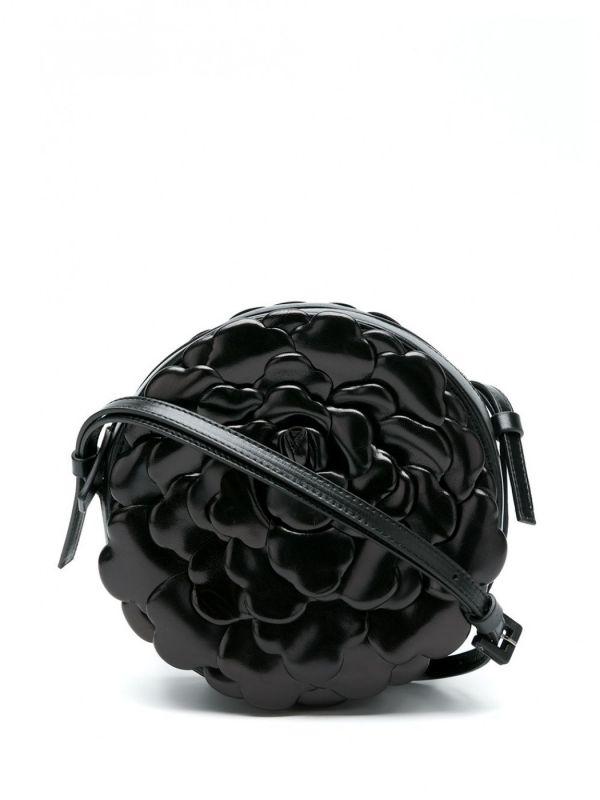 Valentino Atelier 03 Rose 納帕羊皮玫瑰 WOC包  黑色