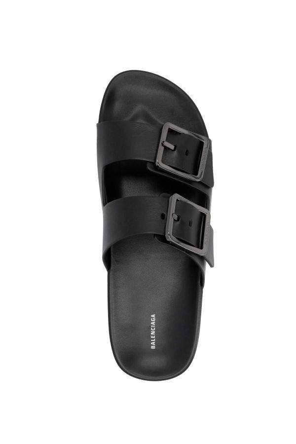 Balenciaga 男款 Mallorca 皮革涼拖鞋  IT 39/40/41/42/43