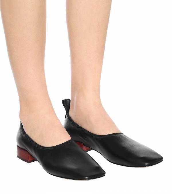 Loewe 小羊皮柔軟的芭蕾套腳鞋 IT 35/38 LOEWE,Hammock
