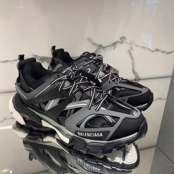 Balenciaga 男款 Track 2 黑色及灰色運動鞋  IT 39/40/41/42/43