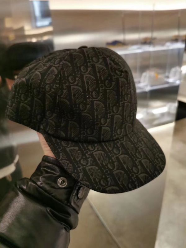 Dior Oblique 棒球帽 灰色棉帆布  Bottega Veneta