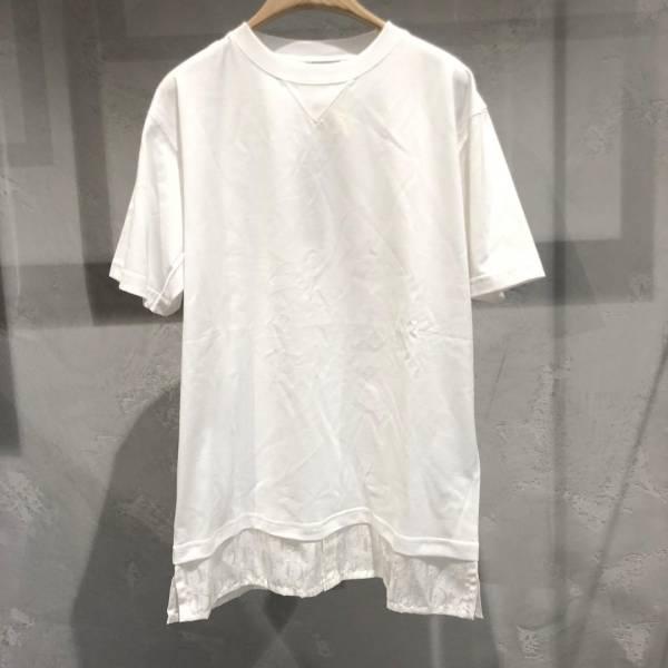 Dior 男款寬身Oblique白色純棉平紋布T恤上衣  XS/S/M/L/XL DIORHOMME