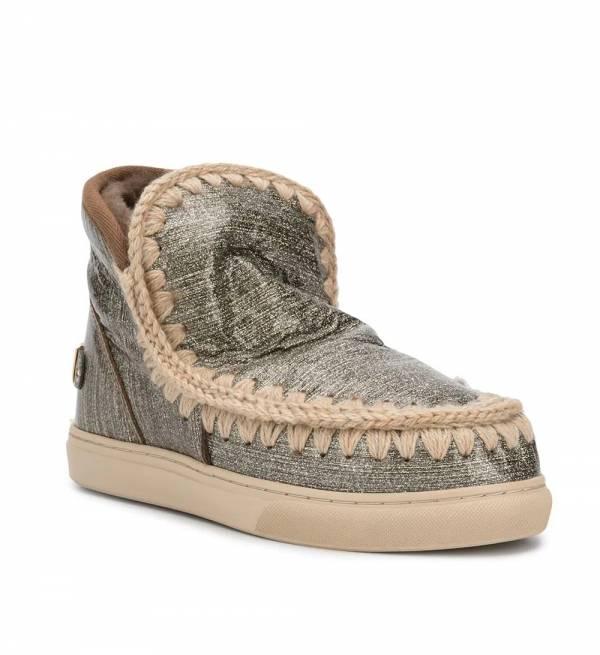 Mou英國頂級愛斯基摩Eskimo金屬效果羊毛靴鞋     IT 36/37/38/39/40/41 YSL COLLEGE學院包