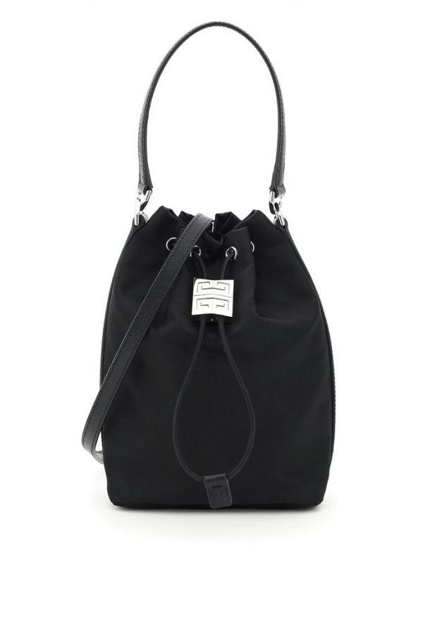 Givenchy 4G輕盈水桶包 黑色