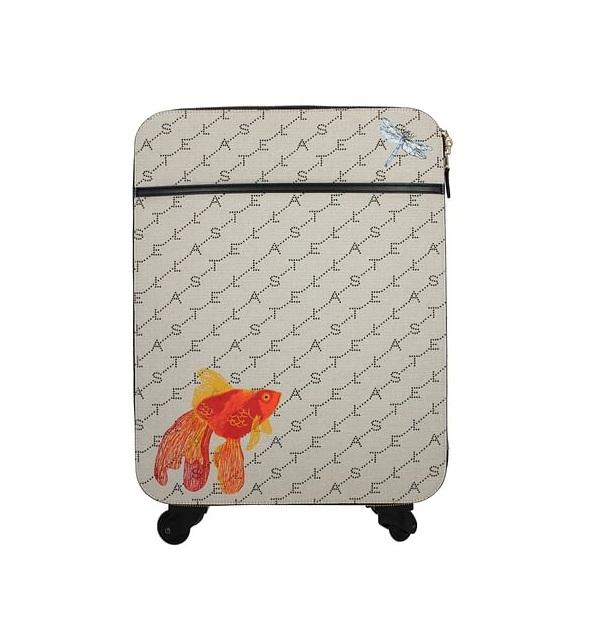 Stella McCartney Stella Logo 小金魚裝飾 登機行李箱