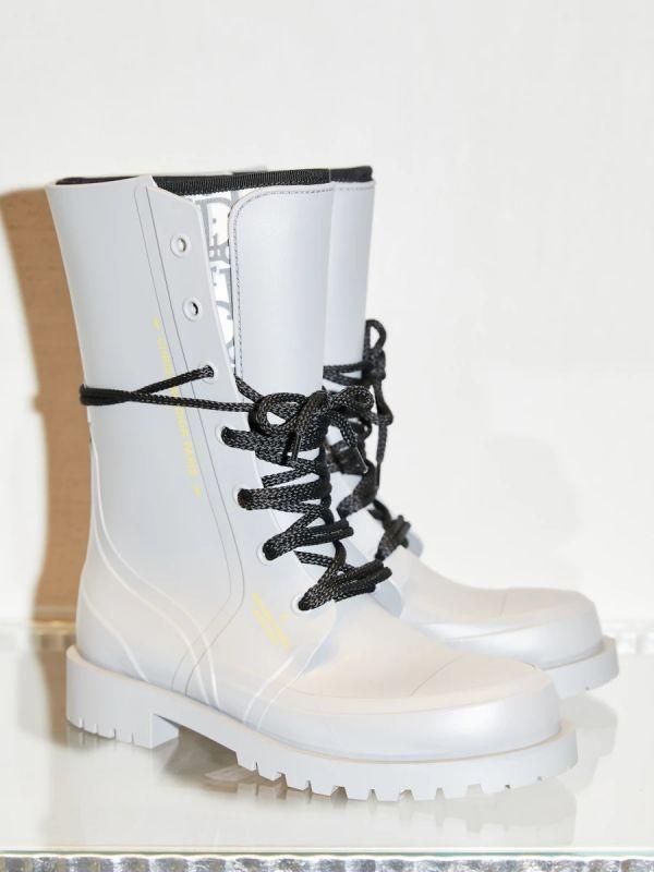 Dior Oblique DIORCAMP 女款橡膠和氯丁橡膠鞋 灰色  IT 36/37/38/39 Bottega Veneta