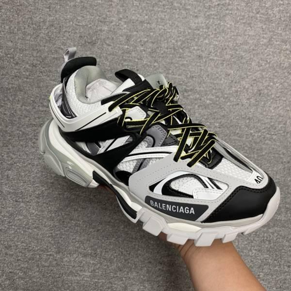 Balenciaga 男款 Track 2 黑色及螢光色運動鞋  IT 39/40/42/44