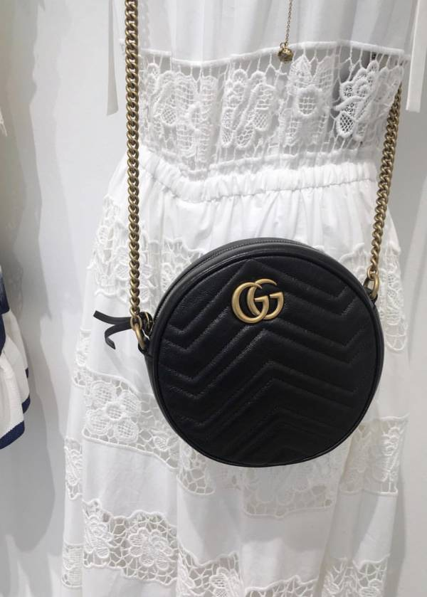Gucci GG Marmont 550154 小圓餅相機包