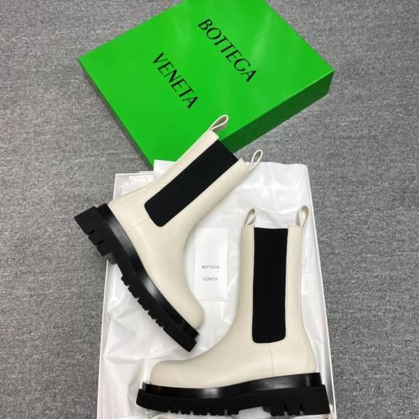 Bottega Veneta  630297 BV Tire 拉伸長靴    白色      IT 35.5/36/36.5/37/37.5/38/38.5/39 (需拿小一碼)