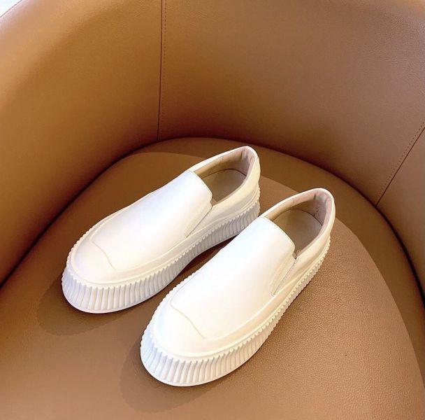 Jil Sander 女款 5cm 厚底套穿式餅乾鞋  IT 40