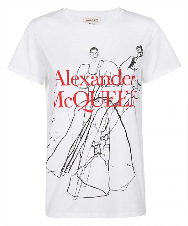 Alexander McQueen 舞蹈女孩棉質T SIRT上衣  IT 38/40/42 Bottega Veneta