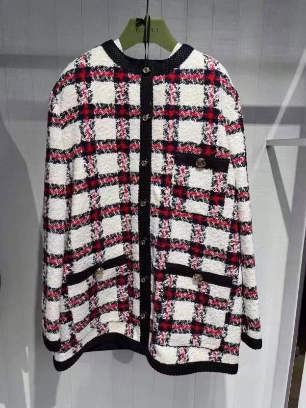 Gucci  660820 女款 格紋粗花呢外套/上衣     IT 40S /42 M LOEWE,Hammock