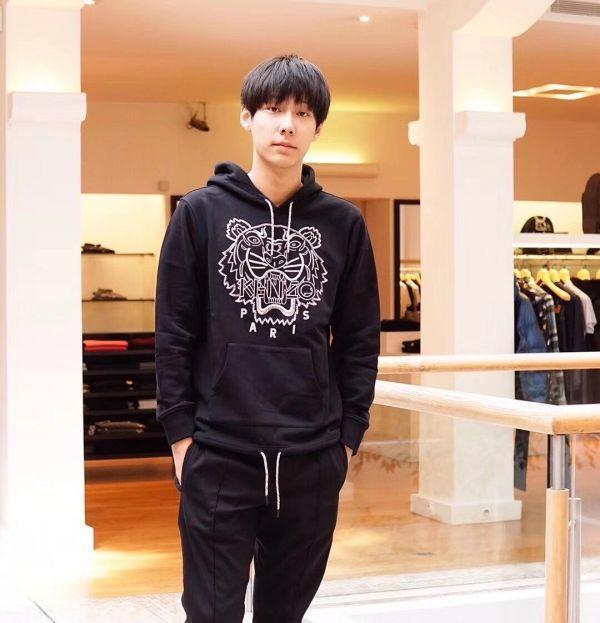 Kenzo 老虎刺繡棉質 T-shirt 連帽上衣 S/M/L