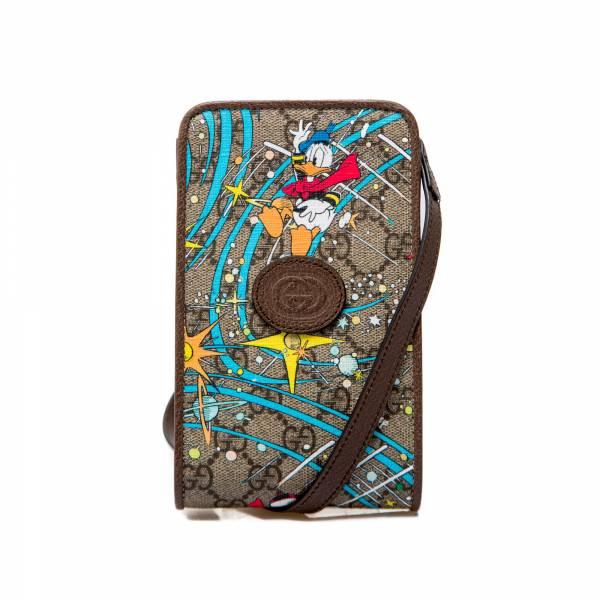 Gucci 聯乘迪斯尼唐老鴨證件及手機掛包