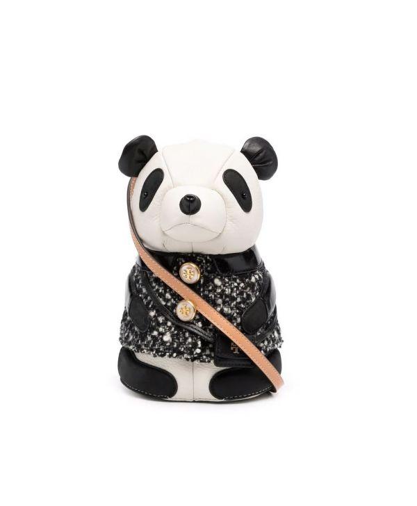 Tory Burch 熊貓寶寶皮革肩背包