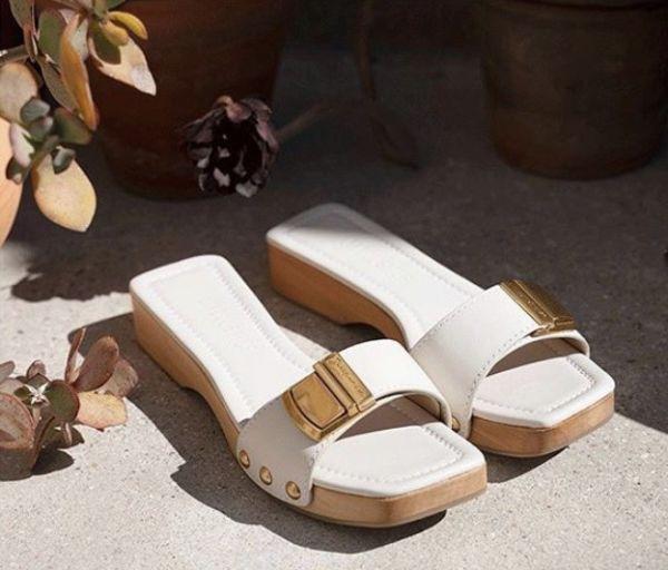 Jacquemus Les Tatanes 女款白色木質涼拖鞋  IT 35/36/37/38/41 Bottega Veneta