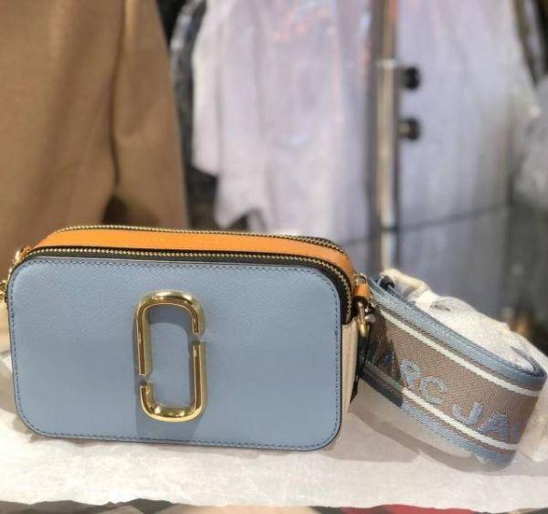 Marc Jacobs Snapshot 多色相機包      藍色/棕色/米色