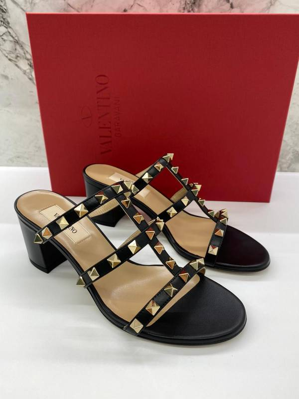 Valentino Rockstuds 6cm高 涼鞋    IT36/36.5/37/37.5/38.5