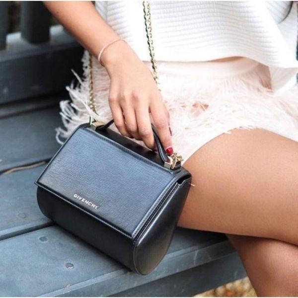 Givenchy BB5003 迷你潘朵拉 Pandora Box 山羊皮  黑色