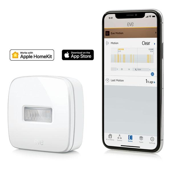 EVE Motion 無線運動傳感器 /藍牙低能耗/白色(Apple HomeKit  iOS) 西格瑪智慧管家,IOT,安防管家,智能管家,電工管家,智能家庭,Smarthome,Google 智能音箱,小米智慧家庭,Apple Homekit eve,